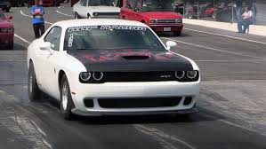 Fastest Muscle Car - meet the fastest hellcat challenger in the world demon killer