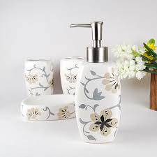 White Bathroom Accessories Set by Ceramic Bathroom Accessories This Sets Will Be Eye Catching