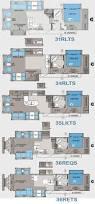 Jayco Camper Trailer Floor Plans 11 Best 5th Wheel Floor Plan Images On Pinterest 5th Wheels 5th