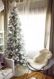 Diy Mini Christmas Trees Pinterest Best 20 Flocked Christmas Trees Ideas On Pinterest Artificial