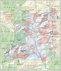 County Map Of Colorado Lake County Colorado Geological Survey