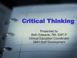 Critical thinking model
