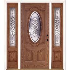 Transom Window Above Door Single Door With Sidelites Front Doors Exterior Doors The