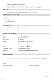 New Model Resume Format Download  fresher engineer free  for     Than       CV Formats For Free Download a resume that get you a interview call jpg