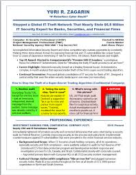 View Resume Samples by Illustrated Resume Samples Cyber Security