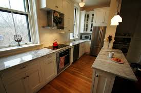 Marble Island Kitchen Kitchen Remodel Ideas Oak Cabinets White High Gloss Wood Island