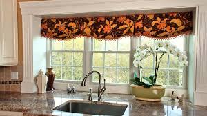 kitchen style orange black floral pattern kitchen accessories