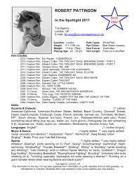 theatrical resume template special skills for acting resume resume for your job application resume special skills examples doc 7411024 special skills to put