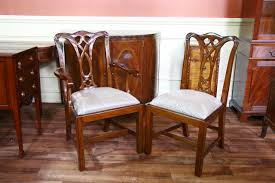 Bamboo Dining Room Furniture by Chippendale Table And Chairs Faux Bamboo Dining Chairs For Sale