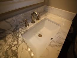 contemporary vanity sinks kohler rectangular undermount bathroom