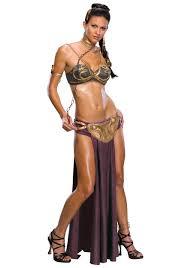 Sexiest Pirate Halloween Costumes Princess Leia Slave Costume