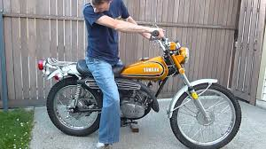 1973 yamaha ct3 175 enduro first start up in 30 years youtube