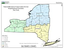 New York Map Us by Contact Us Nrcs New York