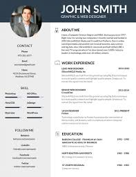 resume examples for job 50 most professional editable resume templates for jobseekers best resume templates