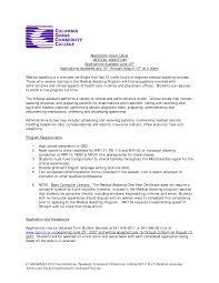 Full Charge Bookkeeper Cover Letter Sample Sample Of Resume Cover Letter For Medical Assistant Entry Level
