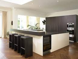 Designer Bar Stools Kitchen by Kitchen Room Design Ideas Black Leather Upholstery Modern Bar