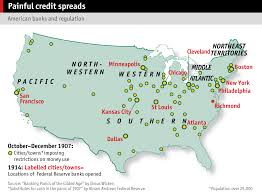 United States Map Major Cities by Financial Crises The Economist
