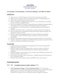 Professional Entry Level Civil Engineer Resume Templates to     Brefash Fresher Engineer Resume Format Free download