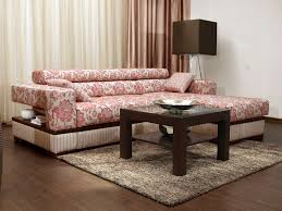 Small L Shaped Sofa Bed by Modern L Shaped Gray And White Sectional Sofa Bed Combined Small