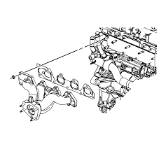repair instructions off vehicle exhaust manifold installation