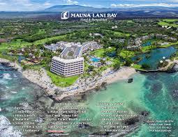 Map Of Waikiki Hawaii Big Island Resorts Mauna Lani Bay Hotel Directions