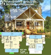 900 Sq Ft Floor Plans by Plan 68400vr Cottage Escape With 3 Master Suites Architectural