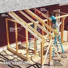 How To Build A Small Shed Step By Step by How To Build A Garden Shed Addition Family Handyman