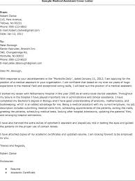 Cover Letter For Medical Receptionist  sample cover letters for