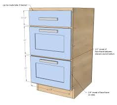 Height Of Kitchen Cabinet by Ana White 18