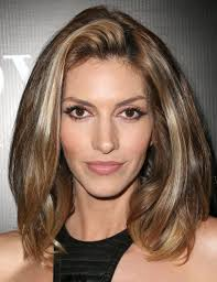 medium length straight hairstyles for round faces medium hairstyles for women with fat faces