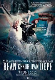 poster Mr Bean dirasuk D.P