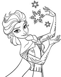 elsa frozen coloring page snapsite me