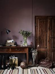Purple Bedroom Furniture by Dusty Purple Wall Color The New Neutral Interiors Dark