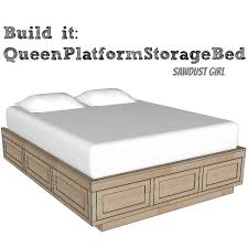 King Size Floating Platform Bed Plans by Best 25 Diy Queen Bed Frame Ideas On Pinterest Diy Bed Frame