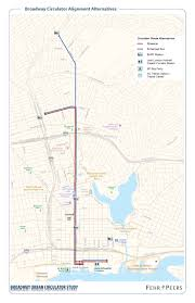 Amtrak Capitol Corridor Map by Broadway Transit Circulator Study Broadway Transit City Of