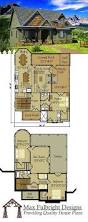 small cottage plan with walkout basement rustic cottage cottage