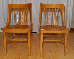 tribute 20th decor 1940 u0027s oak office chairs