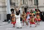 Presentación de la Semana Santa de Huancavelica 2014, en Palacio ...