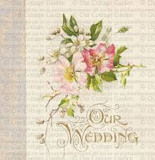 Cottage Garden Book by Our Wedding Memory Book Cover 2 Our Cottage Garden