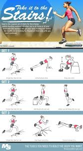 Stair Master Workout by Best 25 Stairs Workout Ideas On Pinterest Stair Exercise