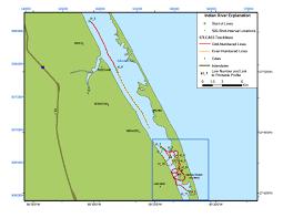 Avon Park Florida Map by Indian River Lagoon Florida Map U2013 Holon