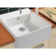 Impressive  How To Clean Ceramic Sinks In Kitchen Inspiration - Ceramic white kitchen sink