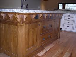 quarter sawn oak island closeup william pepper fine furniture
