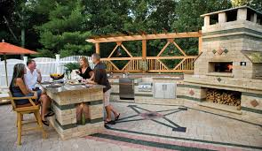 Ideas For Outdoor Kitchen Top Patio Design Ideas For Allentown Pa Homeowners Unilock