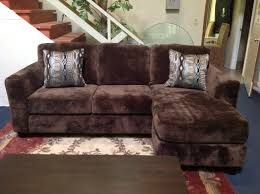 Floral Couches Furniture Dark Grey Velvet Sectional Sofa With Storage Ottoman