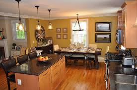 kitchen and dining room ideas with pendant lamps and amazing