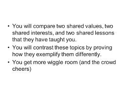 A compare and contrast essay apex   mfacourses    web fc  com