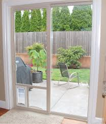 catflap in glass door best dog door for sliding glass doors in utah adv windows
