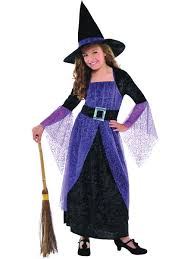 Halloween Girls Costume Child Pretty Potion Witch Costume 996239 Fancy Dress Ball