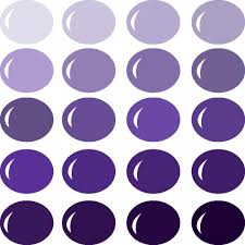 invue color palette shades of purple pazzles craft room